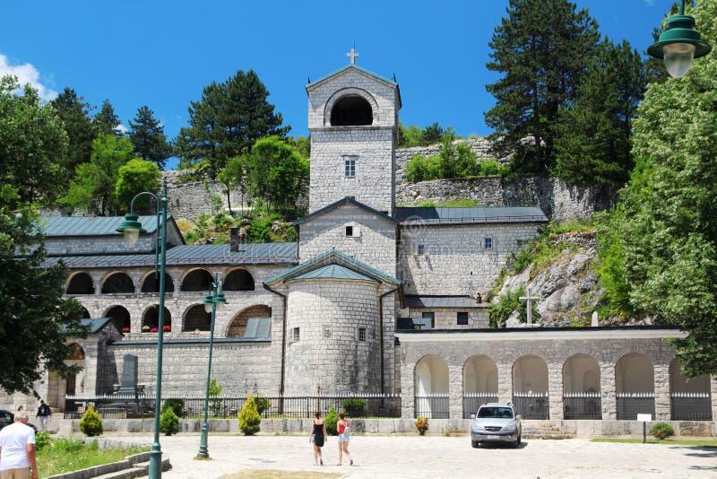 Das Cetinje-Kloster, Montenegro stockbild