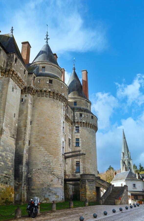 Das Chateau de Langeais stockbilder