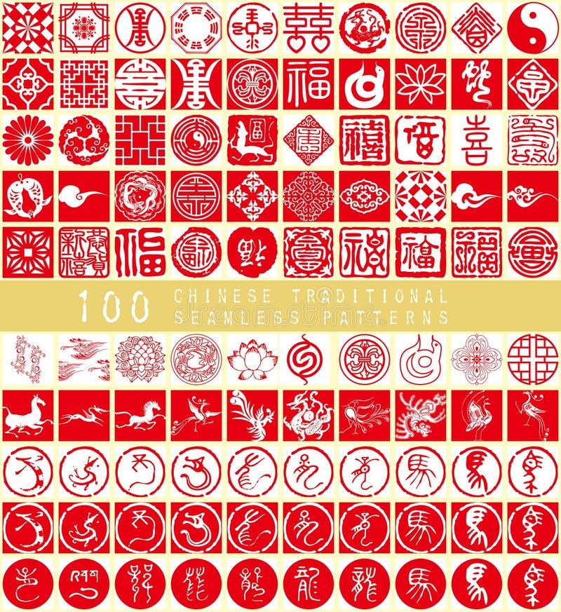 Das chinesische Element des neuen Jahres vektor abbildung