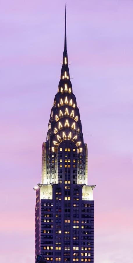 Das Chrysler-Gebäude lizenzfreies stockfoto