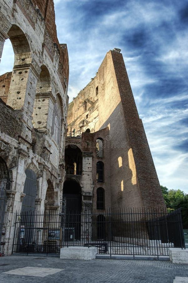 Das Colosseum stockbild