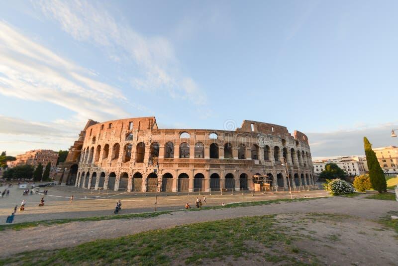 Das Colosseum in Rom lizenzfreie stockfotos