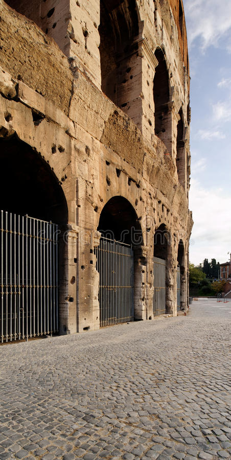 Das Colosseum, Rom, Italien stockbilder