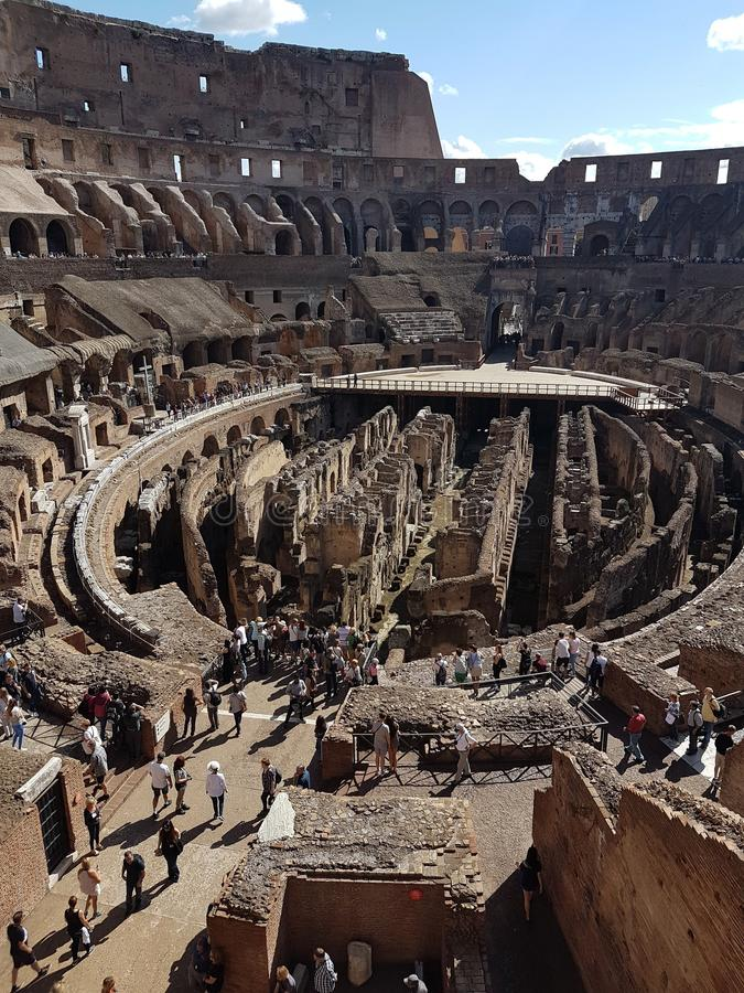Das Colosseum, Rom, Italien stockfotografie