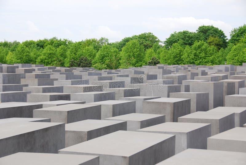 Das Denkmal zu den ermordeten Juden von Europa lizenzfreies stockfoto