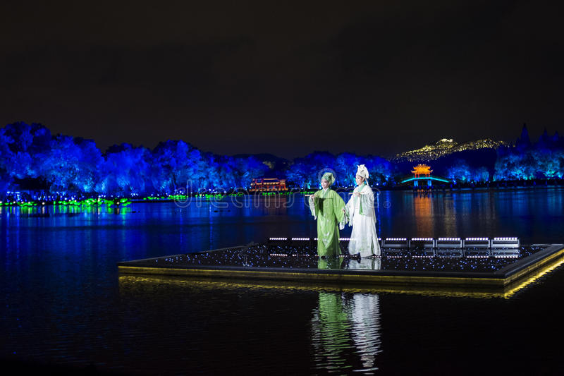 Das denkwürdigste ist Hangzhou stockfoto