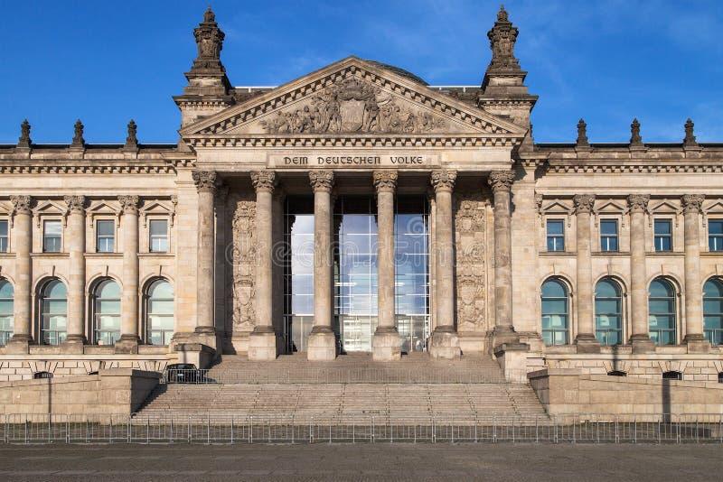 Das deutsche Parlament stockfotografie
