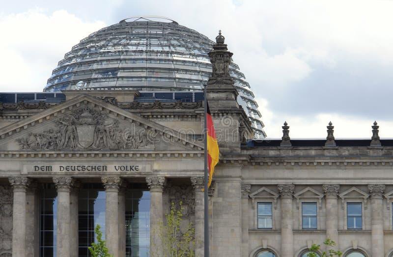 Das deutsche Parlament führen einzeln auf stockfotografie