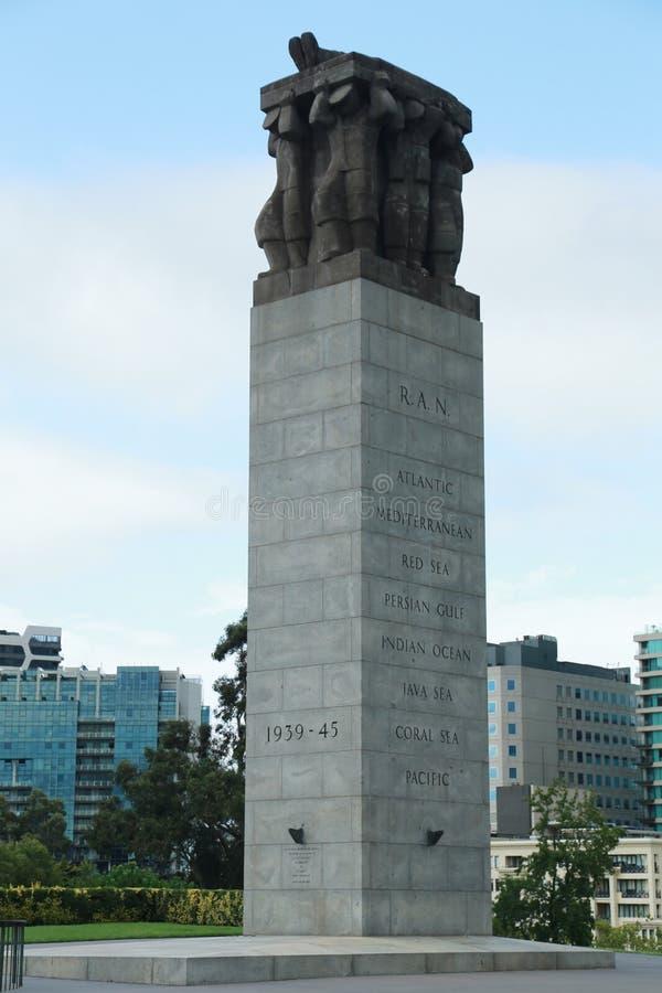 Das Ehrengrabmal nahe dem Schrein der Erinnerung in Melbourne, Australien stockfotos
