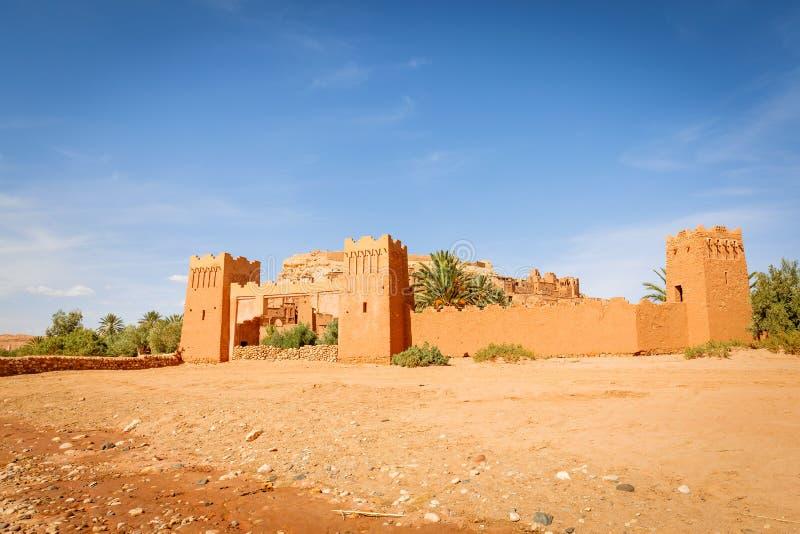 Das Eingangstor zur Festung von Ait Ben Haddou lizenzfreie stockbilder