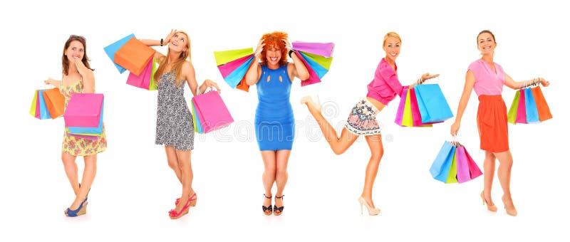 Download Das Einkaufen Ist Meine Lebensdauer! Stockfoto - Bild von freundlich, ausdruck: 27729014