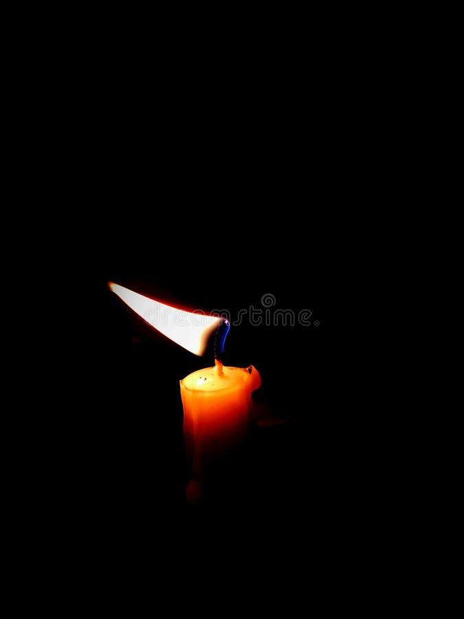Das einzelne Licht lizenzfreies stockfoto