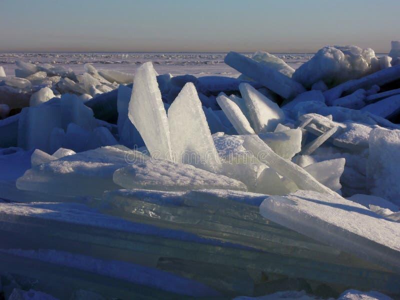 Das Eis stockbilder