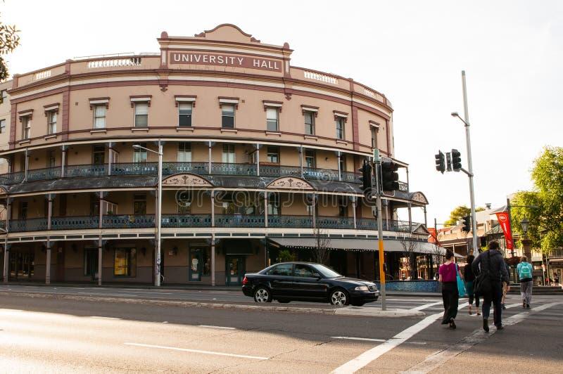 Das Erb-Gebäude ` Hochschul-Hall-` ist- ursprünglich zu den Studenten von der nahe gelegenen Universität von Sydney Haupt stockfotos