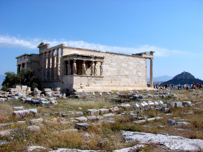 Das Erecthion, Athen lizenzfreie stockfotografie