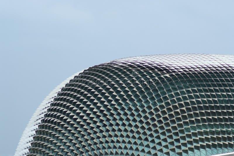 Das esplanade-Theater in Singapur lizenzfreies stockbild