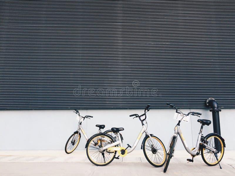 Das Fahrrad stockfotografie