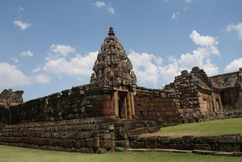 Das Felsenschloss in Thailand stockbild
