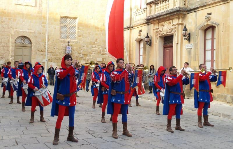 Das Fest von Malta La Festa ein Malta stockfoto