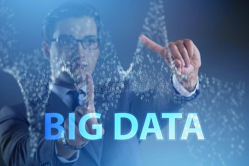Das fintech große Datenfinanziellkonzept mit Analytiker stockfotos