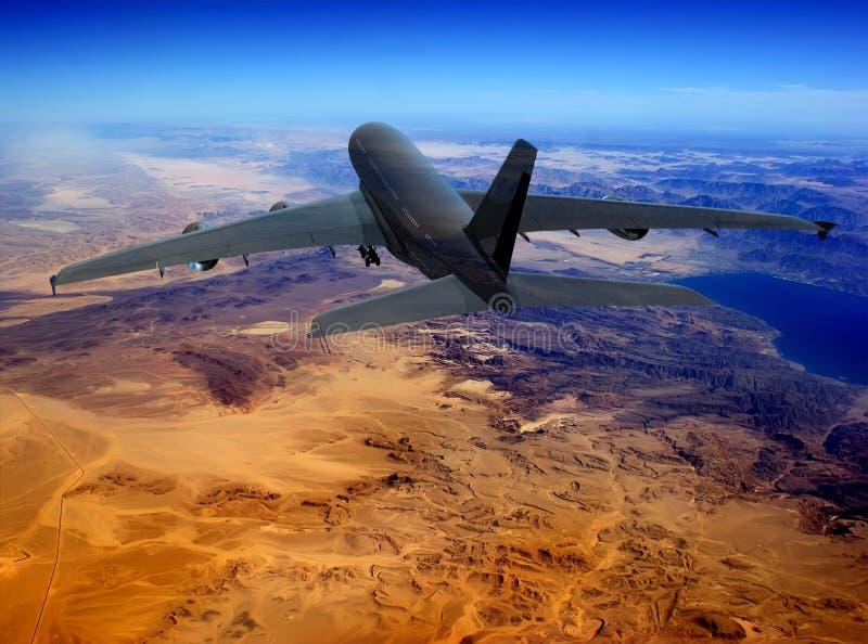 Das Flugzeug vektor abbildung