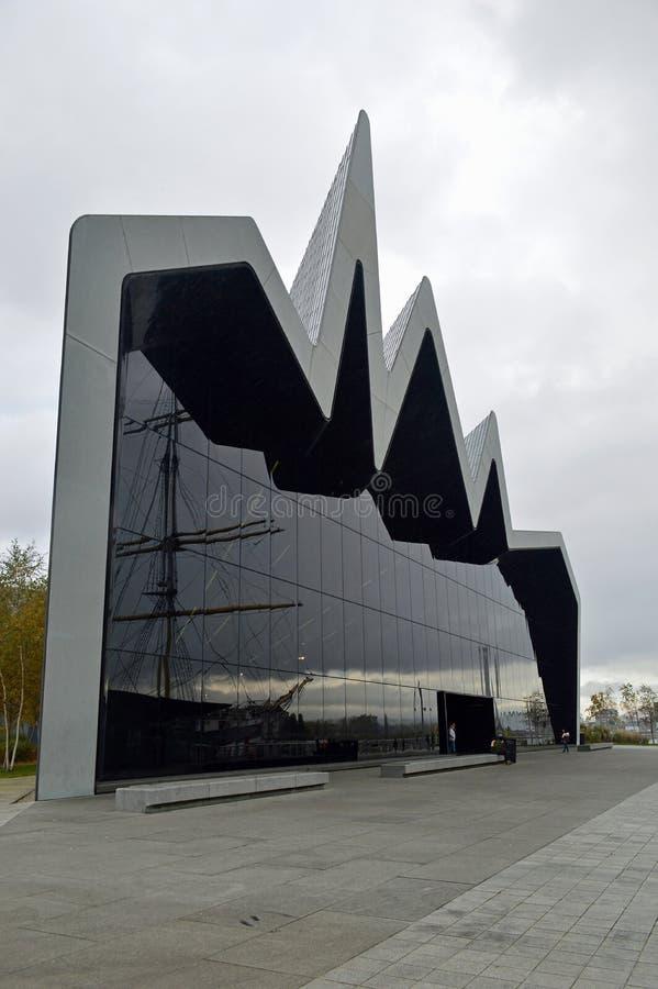 Das Flussufer-Museum, Glasogow Schottland lizenzfreies stockfoto