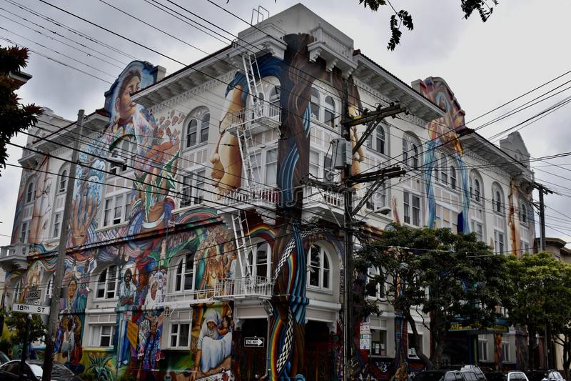 Das Frau ` s Gebäude von San Francisco, 2 lizenzfreies stockbild