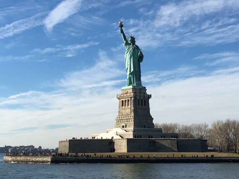 Das Freiheitsstatue stockbild