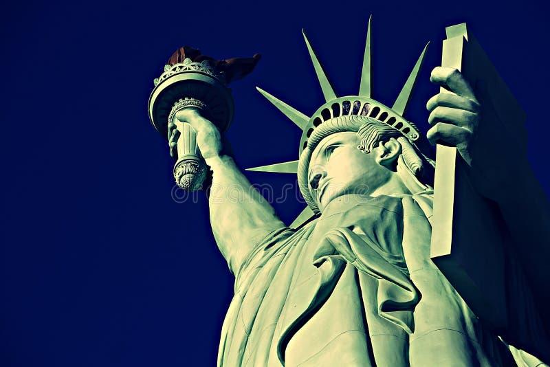 Das Freiheitsstatue, Amerika, Amerikaner, Vereinigte Staaten, Manhattan, Las Vegas, Paris, Guam stockfotos