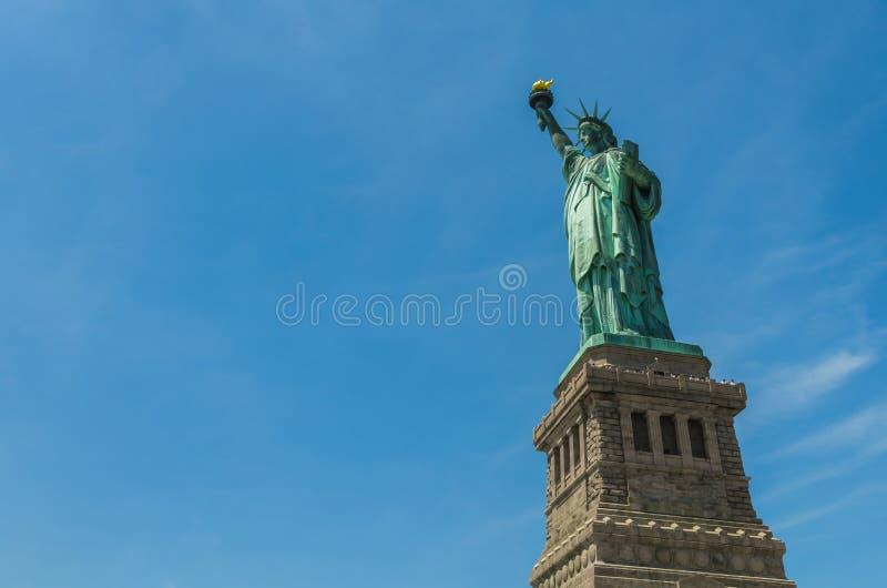 Das Freiheitsstatue in New York lizenzfreie stockbilder