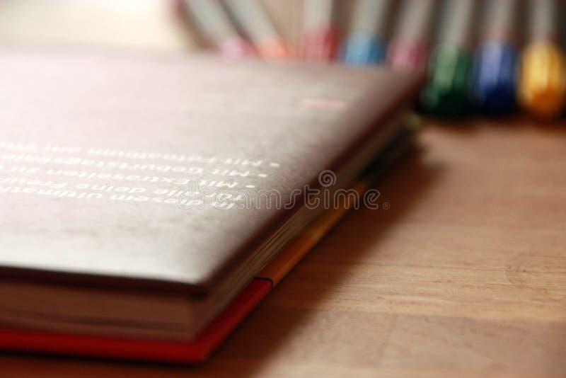 Das Freundbuch lizenzfreies stockfoto