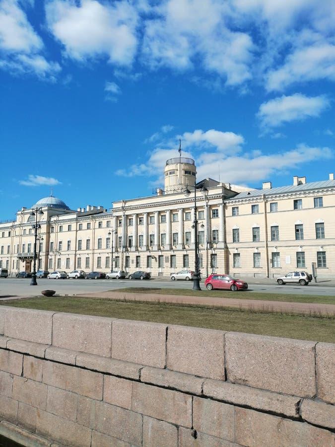 Das Gebäude der Seeakademie lizenzfreies stockfoto