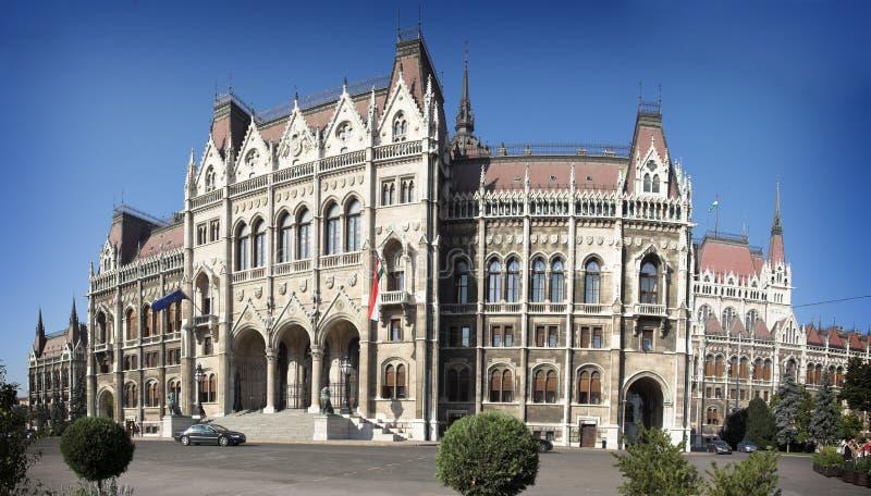 Das Gebäude des Parlaments von Ungarn stockfoto
