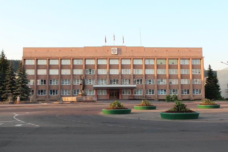 Das Gebäude von Rathaus von Zelenogorsk lizenzfreies stockfoto