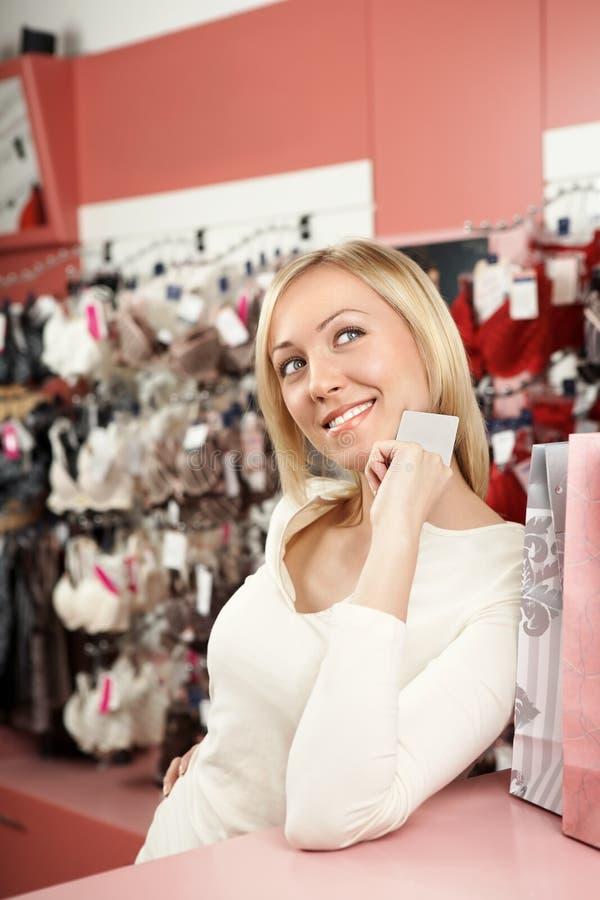 Das Gebläse des Einkaufens lizenzfreie stockfotos