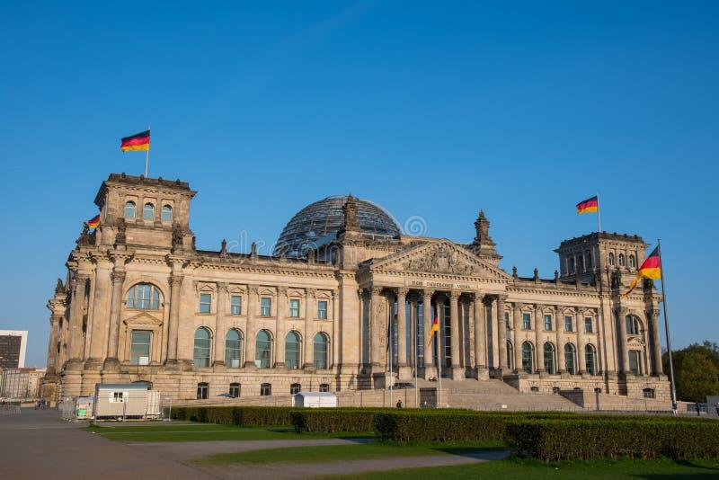 Das Germen-Parlament stockfotos