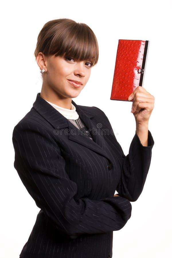 Das Geschäftsmädchen lizenzfreie stockfotografie