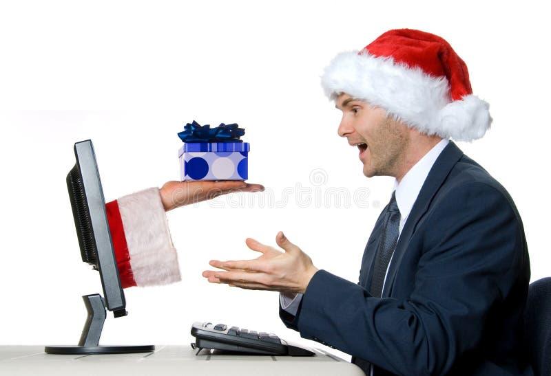 Das Geschenk lizenzfreie stockfotografie