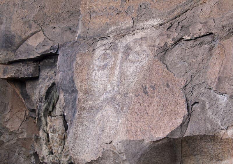 Das Gesicht von Christus in Arhyz lizenzfreie stockbilder