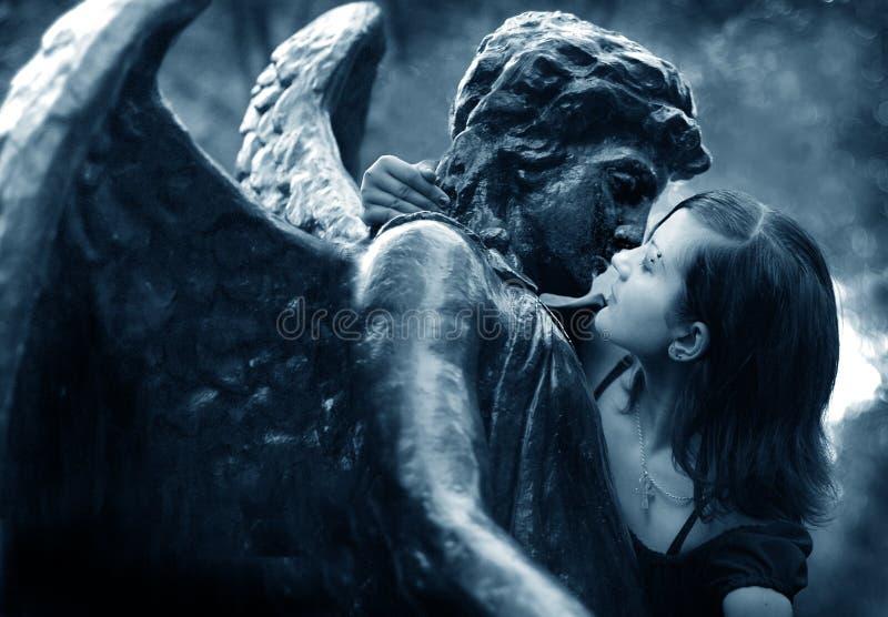 Das gotische Mädchen lizenzfreie stockbilder
