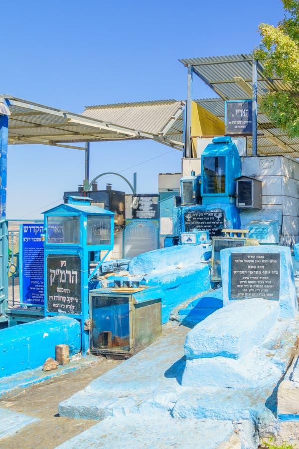 Das Grab des ARI, Safed stockfoto
