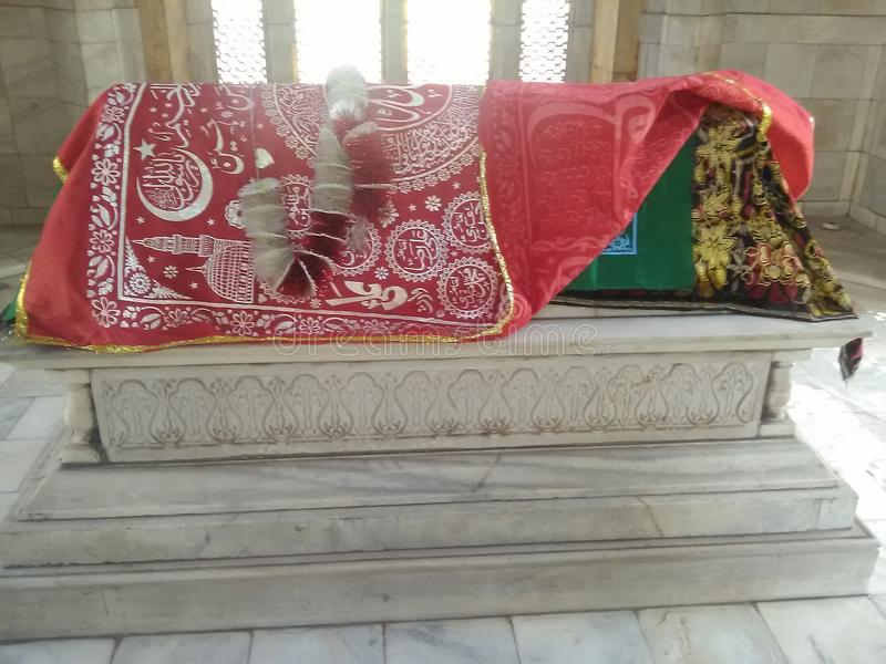 Das Grab von Sultan Qutb-ud Lärm Aibak stockfotografie