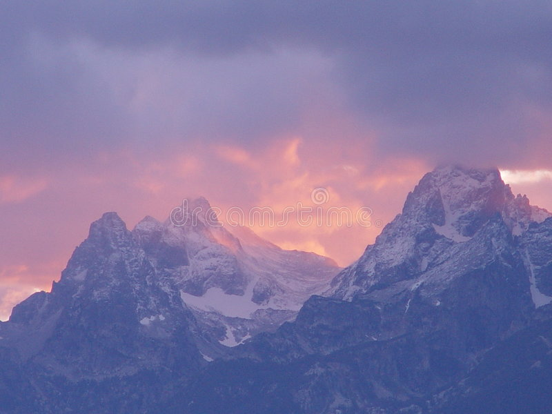 Das Großartige Teton Lizenzfreie Stockbilder