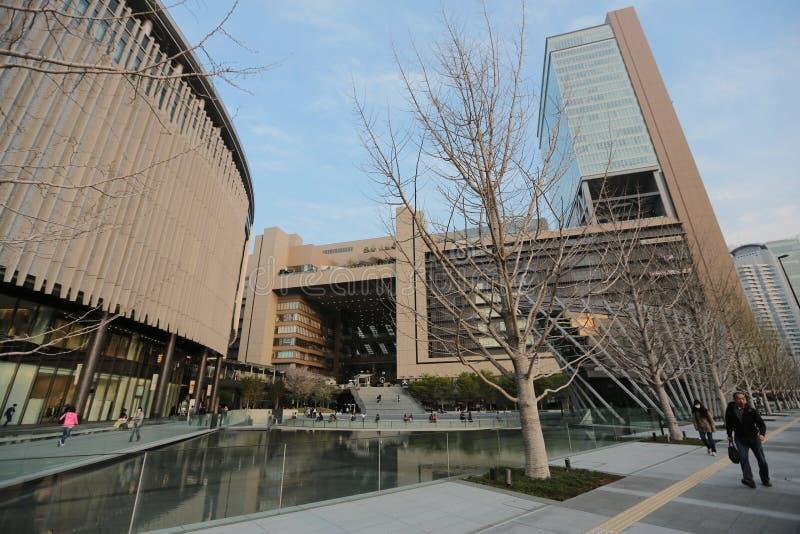 Das großartige vordere Osaka-Gebäude Gefunden nahe Osaka Sataion lizenzfreie stockfotos