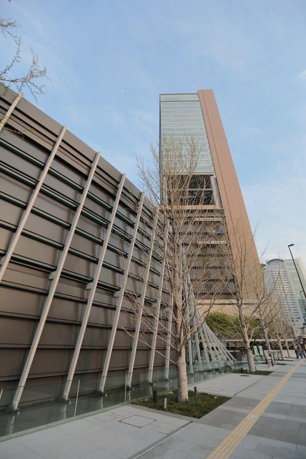 Das großartige vordere Osaka-Gebäude Gefunden nahe Osaka Sataion lizenzfreie stockfotografie