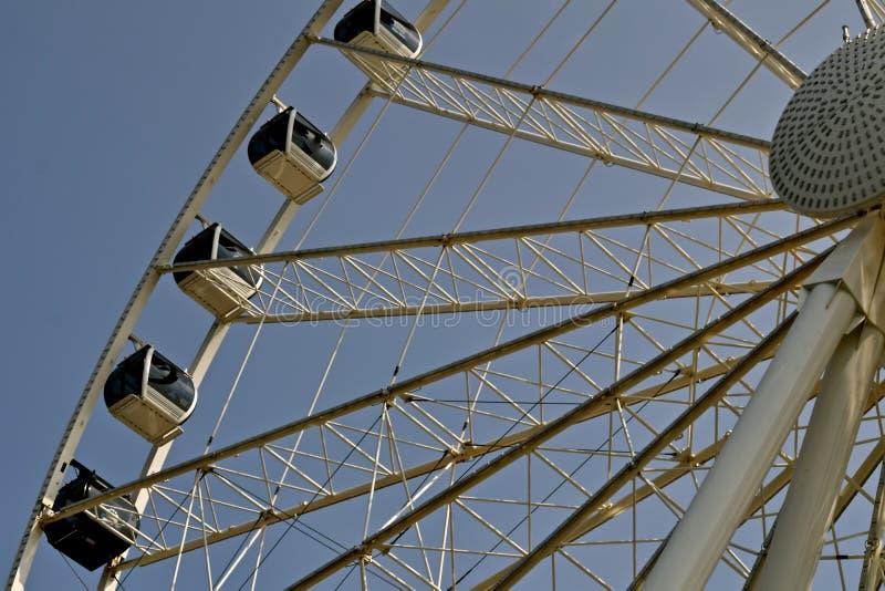 Das große Seattle Ferris Wheel stockbilder