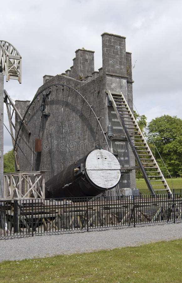 Das große Teleskop stockfotografie