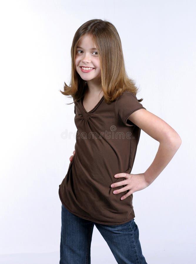Das gute Mädchen lizenzfreie stockfotografie