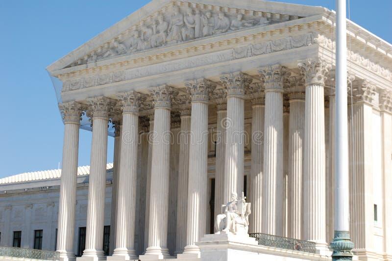 Das Höchste Gericht der Vereinigten Staaten lizenzfreies stockbild