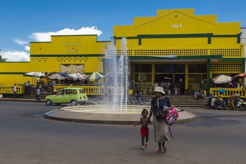 Das Hölle Ville-Marktgebäude, neugierig ist lizenzfreie stockfotos